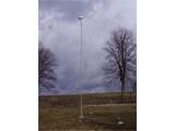 Instalovaná větrná mikroelektrárna